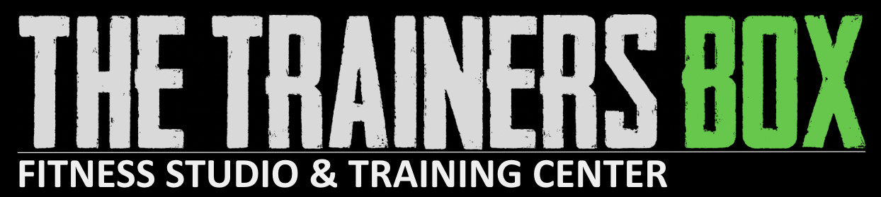 The Trainers Box Fitness Studio and Training Center - Landing Page Logo